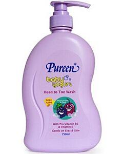 Pureen Baby Yogurt Head To Toe Wash (Blackcurrant & Plum) 750ml - 15% OFF!!