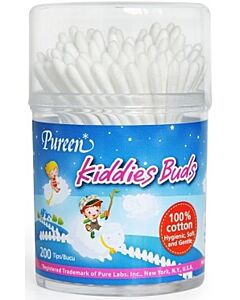 Pureen: Kiddies Buds 200 Tips - 13% OFF!!
