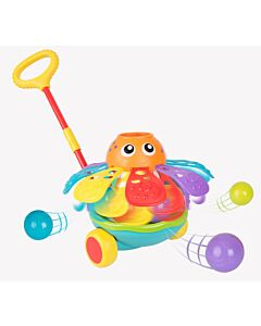 Playgro: Push Along Ball Popping Octopus (12+ Months) - 40% OFF!!