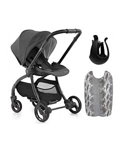 Egg® Quail Stroller: Quantum Grey On Chasis (FREE Backpanel + Cup holder) -17% OFF!!