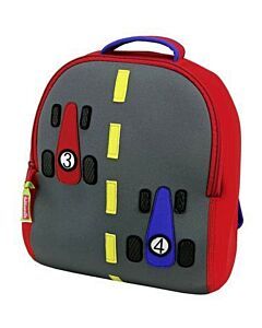 Dabbawalla: Backpack - Race Car - 15% OFF!!