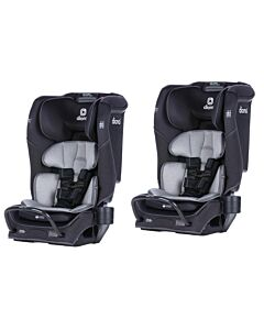 [BUY 2] Diono Radian® 3QX Convertible Car Seat - 2 x Black Jet [Super special deal]