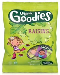 Organix Goodies Raisins Mini Boxes 168g (12+ Months)