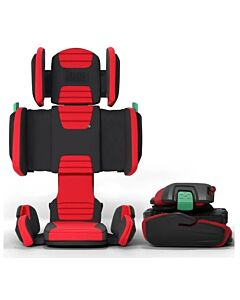 Hifold: Fit-and-Fold Booster Car Seat - Racing Red  - 21% OFF!!