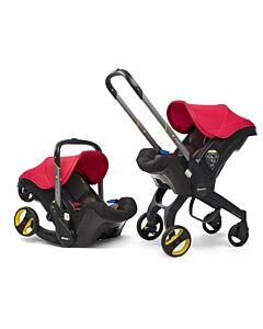 Doona Infant Car Seat Stroller *Model 2019* (FOC Snap On Storage Bag) - Flame Red - 18% OFF!!