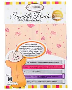 Autumnz: Swaddle Pouch (Safe & Snug for Baby) - Ribbon Wonderland (Size M) -20% OFF!!