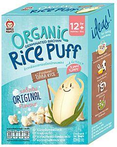 Apple Monkey: Organic Germinated Brown Rice Puff - Original Flavour 30g - 10% OFF!!