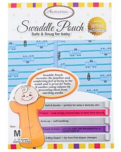 Autumnz: Swaddle Pouch (Safe & Snug for Baby) - Ride On Tram (Size M) -20% OFF!!