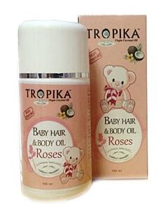 Tropika: Baby Hair and Body Oil - Roses (100ml) - 21% OFF!