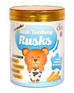 Natufoodies: Milk Teething Rusks (15g x 6's) - Original - 15% OFF!!