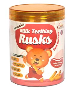 Natufoodies: Milk Teething Rusks (15g x 6's) - Red Quinoa - 15% OFF!!