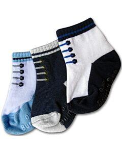 Bumble Bee: Socks - Shoelike Socks 3 Pairs (0-12 months) - 20% OFF!!