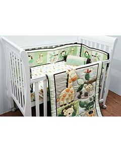 Happy Cot: Bedding Set - Safari Animals - 10% OFF!!