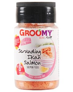 Groomy Salmon Floss 40g [Serunding Salmon] (For 8+ Months) - 14% OFF!!