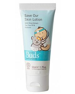 Buds Soothing Organics: Save Our Skin Lotion 50ml (Previously know as First Aid Lotion)  - 15% OFF!