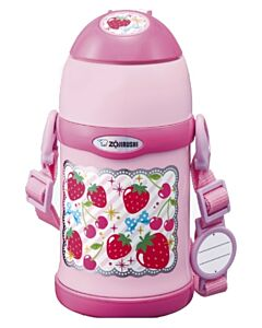 Zojirushi: Stainless Steel Two Way Bottles for Kids 0.45L - Pink - 20% OFF!!