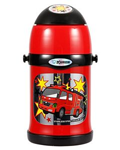 Zojirushi: Stainless Steel Two Way Bottles for Kids 0.45L - Red - 20% OFF!!