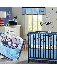 Happy Cot: Bedding Set - Sea - 10% OFF!!