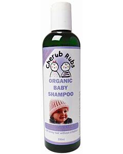 Cherub Rubs Organic Baby Shampoo 250ml + (FREE Laundry Solution 100ml) - 20% OFF!!
