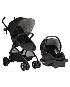 Evenflo Travel System Stroller Sibby™ (EV0316A/31W1-EFCC) - Charcoal - 60% OFF!