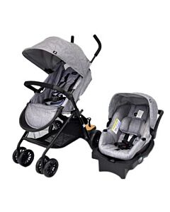 Evenflo Travel System Stroller Sibby™ (EV0316A/31W1) - Light Grey - 60% OFF!