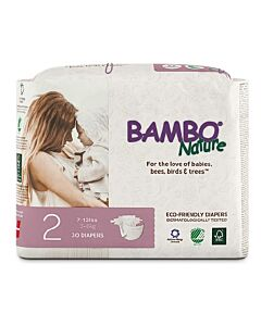 Bambo Nature Dream Mini Diapers | 30 Pieces - Size 2 (3 - 6kg) - 20% OFF!