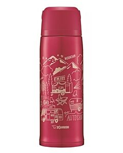 Zojirushi: Stainless Steel Bottle 0.8L - Red - 10% OFF!!
