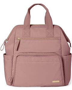 Skip Hop: Main Frame Wide Open Diaper Backpack - Dusty Rose - 15% OFF!!