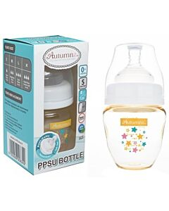 Autumnz: PPSU Wide Neck Feeding Bottle (4oz/120ml) - Starry Sparkle *Single Pack* - 20% OFF!!