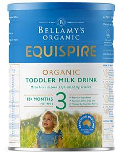Bellamy's Organic Toddler Drink (Step 3) EQUISPIRE 900g