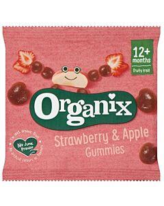 Organix Goodies Organic Fruit Gummies Strawberry & Apple (from 12+ Months) 12g