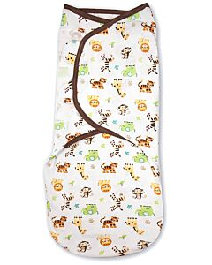 Summer Infant: SwaddleMe Original Swaddle (Large) - Graphic Jungle - 10% OFF!!