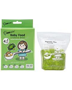 SUNMUM: Baby Food Storage Bags (30 bags) 5oz/150ml - 10% OFF!!