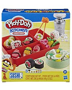 Play-Doh: Kitchen Creations - Sushi Playset (3+ Years Old) - 10% OFF!!