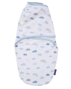 Clevamama: Swaddle To Sleep (0 - 3 Months) - Blue - 20% OFF!!