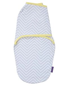 Clevamama: Swaddle To Sleep (0 - 3 Months) - Grey - 20% OFF!!