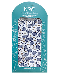 Gugu Premium Zipped Swaddle - Tennis