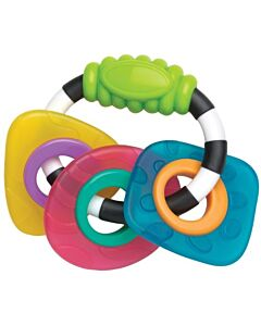 Playgro Textured Teething Rattle - 15% OFF!!
