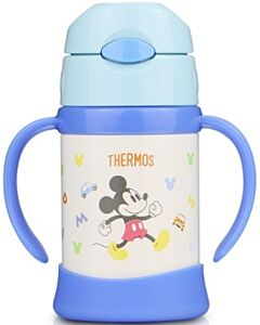 Thermos: Disney Sippy Cup with Handle 250ml (Blue) - 26% OFF!!