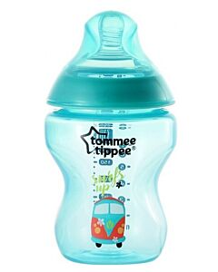 Tommee Tippee: Closer To Nature - Tinted Bottle 260ml / 9oz (BPA Free) - 1 Pack (Jade Green) - 25% OFF!!