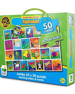 The Learning Journey Jumbo Floor Puzzles, Alphabet Floor Puzzle  - 10% OFF!!