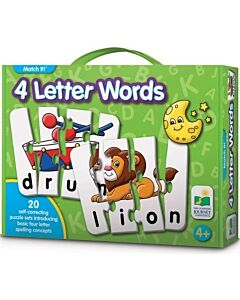 The Learning Journey Match It! 4 Letter Words - 15% OFF!!