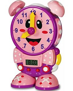The Learning Journey Telly The Teaching Time Clock (PINK) & Night Light (3 Years+) - 10% OFF!!