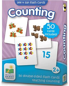 The Learning Journey: See & Say Flashcards - Counting