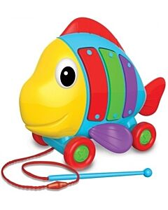 The Learning Journey: Pull Along Tune A Fish 12 Month+