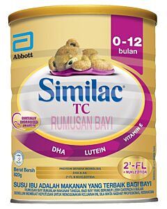 Similac: Total Comfort Milk Powder (0-12 Months) 820g