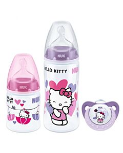 Nuk Premium Choice+ Trio Gift Pack with PP Bottle (0-6 Months) - 35% OFF!!