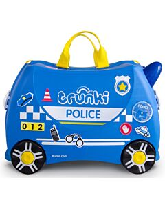 Trunki Ride-On Little Luggage for Little People - Police Car - 15% OFF!