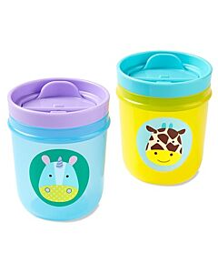 Skip Hop: Zoo Tumbler Cups - Unicorn & Giraffe - 14% OFF!!