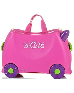 Trunki Ride-On Little Luggage for Little People - Trixie (Pink) - 20% OFF!